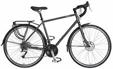 DAWES GALAXY PLUS - UNISEX TOURING BIKE - 27 SPEED - GREY - COMMUTING BICYCLE