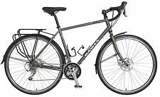 DAWES SUPER GALAXY - MENS TOURING BIKE - 30 SPEED - GREY - COMMUTING BICYCLE