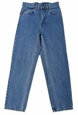 Eagle blue jeans Boy Classic/Straight Leg Denim jean Medium blue Solid Size 8-18