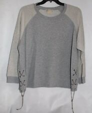 NWT Michael Kors Heather Gray Pull Over Sweater