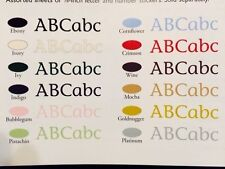 Creative Memories Classy ABC 123 Stickers Large Assorted Colors NIP