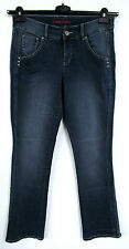 NEU Damen Stretch Bootcut Jeans Hose Denim 5 Pocket Style blue blau Gr. 42 44