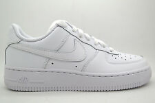 [314192-117] NIKE AIR FORCE 1 (GS) GRADE SCHOOL SHOES WHITE/ WHITE