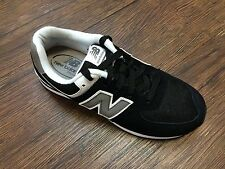 New Balance Boy Sneakers Authentic KL574SKG Black Youth Size 3.5 to 7 Wide NIB