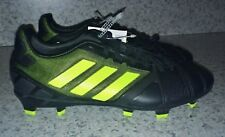 NEW Mens ADIDAS Nitrocharge 2.0 TRX FG Black Lime Soccer Cleats Futball Boot 7