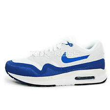 WMNS Nike Air Max Lunar1 [654937-100] NSW Running White/Game Royal-Black