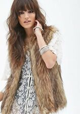 Women's Clothing faux fur vest luxurious fur waistcoat Hot sell !!