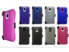 New Defender Outer Series Case Cover w/Holster Clip For Samsung Galaxy Note 3