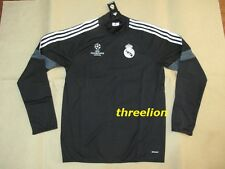 BNWT Adidas 2014/15 REAL MADRID UCL CLIMACOOL L/S Soccer Football Training Top