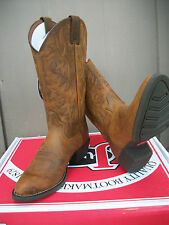 """Men's Justin 13"""" Brown Rugged Tan Cow Western Boot, Style # 2561 NDS?"""