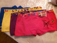 ladies lot of 6 boyshorts asst color butterfly design,,..1246