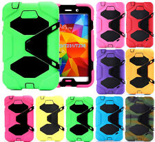 "Kids Shockproof Heavy Duty Full Body Stand Case for Samsung Galaxy Tab3 4 7"" 8"""