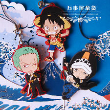 Anime One Piece Hanging-up Keychain Pendants Cosplay Rubber Japanese NEW