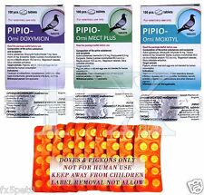 Pipio-Orni Moxityl 100 tablets for Doves Pigeons For the treatment of infections
