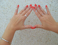 Midi Ring,  Toe Ring,  Above Knuckle Ring. Size Adjustable