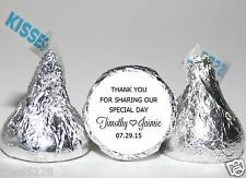 Personalized Wedding  Hershey Kisses Stickers & Labels Favors
