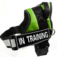 New Service Dog Vest Removable Velcro Patches In Training Reflective Dog Harness