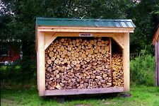 Woodbin DIY Plans - Choose Your Size! - Woodbin/Storage/Cover/Lumber - DIY PLANS