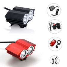 5000Lm 2xCREE XML T6 LED Front Cycling Bike Bicycle HeadLamp Lamp & Tail light