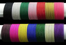 Indian Bollywood Costume Jewelry Plain Metal Bangles Jewellery Set 12 Colors
