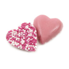 WEDDING FAVOURS CANDY / SWEET BUFFET TABLE PINK CANDY CHOCOLATE HEARTS