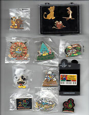 Walt Disney World-Cast Member Exclusive Pins-Most New Unopened- Fun Souvenir