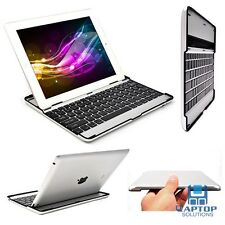 Cute Slim Aluminum Bluetooth Wireless Keyboard Stand Case Cover For iPad 2 3 4
