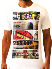 Play Football & Support England Playing 11 World Cup Men's T-shirt