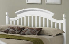 ZARA WHITE ARCHED WOODEN BED FRAME IN 3FT SINGLE, 4FT6 DOUBLE & 5FT KING SALE !!