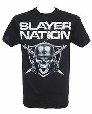SLAYER - SLAYER NATION - Official Licensed T-Shirt - Heavy Metal - New M L XL