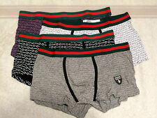 mens low rise boxers in 4 different colours size large  great buy