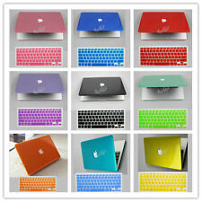 "Crystal Plastic Hard Case & Keyboard Cover For OLD MACBOOK WHITE 13"" inch A1181"