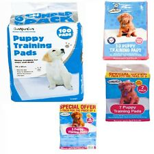 Deal Of 5 7 30 100 Pcs PUPPY SUPER ABSORBENT TRAINER TRAINING PADS TOILET WEE UK