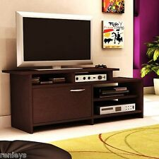 Contemporary TV Stand Console Entertainment Media Center Storage Flat Furniture