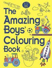 Amazing Boys' Colouring Book Eckel, Jessie Paperback New