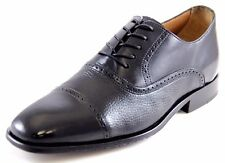 Brass Boot Chauncey Men's Oxfords Black Leather Dress Shoes Style#93415-001