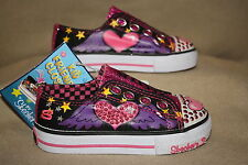 INFANT/TODDLER SKECHERS HEART/WINGS TWINKLE TOES SHOES-SEE LISTING FOR SZ (54)