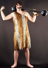 VICTORIAN-Strongman-BARBELL CIRCUS FANCY DRESS OUTFIT Leopard Print-All Sizes