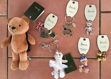 Harrods Bear or Westie Keyring-many to choose from -BNWT -collectable gift
