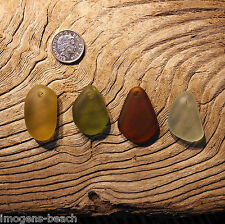 Seaham and North East Coast Sea Glass - Hand Carved Pendants - Imogen's Beach