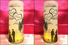 10 Personalized Wedding Luminaries Lanterns Table Numbers Centerpiece Decoration
