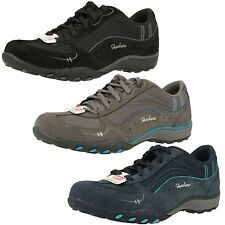 SKECHERS LADIES JUST RELAX TRAINERS WITH MEMORY FOAM *3 COLOURS *JUST RELAX -CC