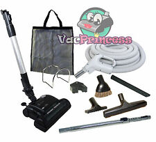 30' or 35' Central Vacuum Kit w/Hose, Power Head & Tools Beam Nutone Electrolux