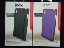 New Tech21 Impactology D3O Sony Xperia Z3 Classic Tactical Flex Shell Cover Case