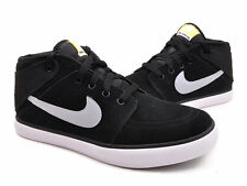 NIKE Fashion Mens Shoes SUKETO MID LEATHER Trainers Black 525310 041 New In Box