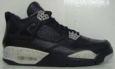 AIR JORDAN 4 RETRO OREO BLACK TECH GREY 314254-003 MEN'S SELECT SIZE