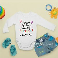 Baby Grow - Personalised Text Printed Front and Back