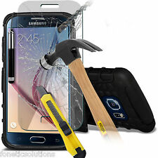 For Samsung Galaxy S6 Heavy Duty Tough Shockproof Hard Case Cover With Stand