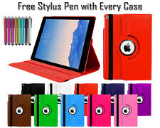 360° Rotate Leather Pu Wallet Folio Stand Case Cover For Apple iPad Air 2 iPad 6