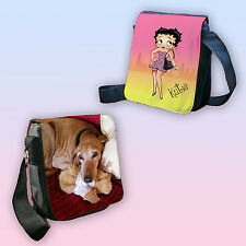BETTY BOOP PERSONALISED SHOULDER BAG ANY NAME OR YOUR OWN PHOTO PRINTED